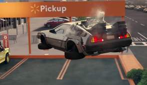 Walmart DeLorean BTTF