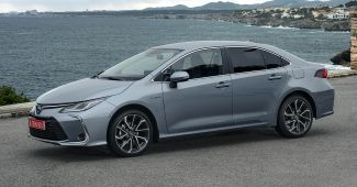2019 Toyota Corolla Sedan 1.8L Hybrid Grey 6