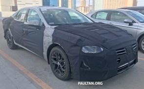 2020 Hyundai Sonata spyshots 2