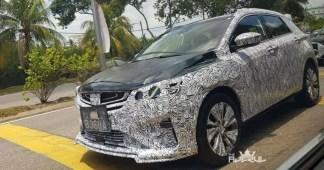 Proton X50 Geely Binyue spyshots Malaysia 1