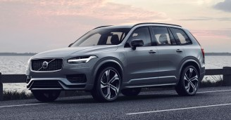 Volvo XC90 R-Design T8 Twin Engine in Thunder Grey