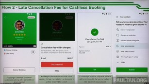 Grab Late Cancel Flow Cashless