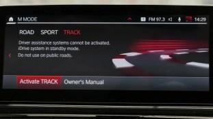 BMW M8 new M Mode 45
