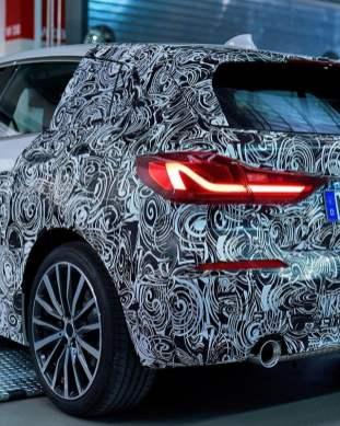 F40 BMW 1 Series teaser 4