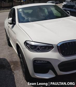 G02 BMW X4 Malaysia spyshots 1