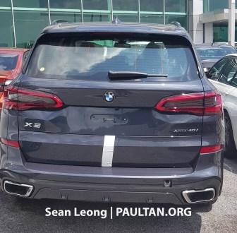 G05 BMW X5 Malaysia spyshots 3