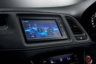 HR-V RS black interior4