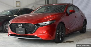 2019 Mazda 3 Hatchback-Japan preview 1