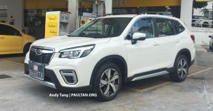 2019 Subaru Forester spyshots brochure Malaysia 3