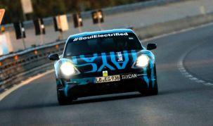 2019 Porsche Taycan long-range test