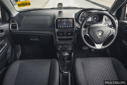 2019 Proton Saga facelift review 32