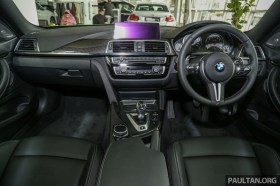 BMW Malaysia M4 Coupè 2019_Int-1