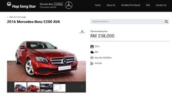 HSS Mercedes-Benz Certified online 6