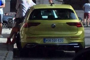 Mk8 Volkswagen Golf leak 1