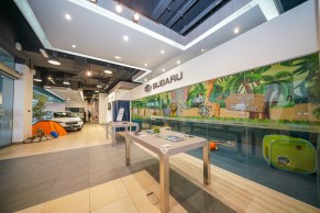 Subaru PJ refurbished showroom 10