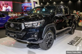 Toyota Malaysia Hilux 2.8 Black Edition 2019_Ext-1