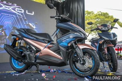 Yamaha NVX 155 Doxou launch-1 BM