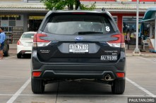 2019 Subaru Forester review-Penang to Bangkok 15