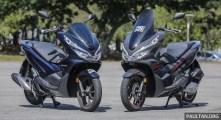 Honda PCX vs PCX Hybrid-4