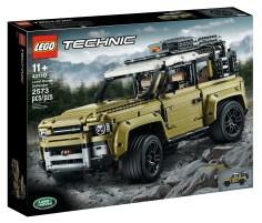 Lego Rilis Mainan Edisi Land Rover Defender Harga Rp2 Jutaan