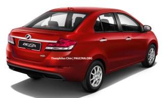 Perodua-Bezza-Facelift-Render-Rear