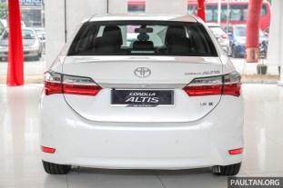 Toyota Malaysia Corolla Altis 1.8G 2018 Showroom_Ext-5