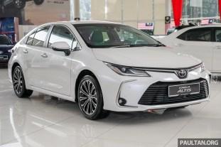 Toyota Malaysia Corolla Altis 1.8G 2019 Showroom_Ext-1