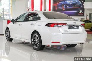 Toyota Malaysia Corolla Altis 1.8G 2019 Showroom_Ext-2
