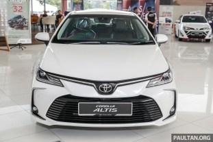 Toyota Malaysia Corolla Altis 1.8G 2019 Showroom_Ext-4