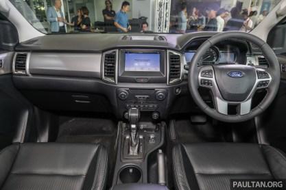2019 Ford Ranger Splash Limited Edition_Int-1_BM