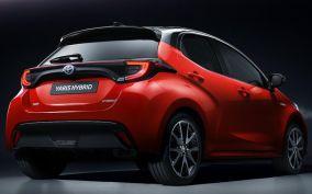 2020 Toyota Yaris-rear