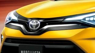 Toyota C-HR with Modellista Boost Impulse 7
