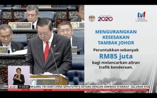 Budget 2020 Johor Causeway 1
