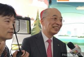 Daihatsu president Soichiro Okudaira
