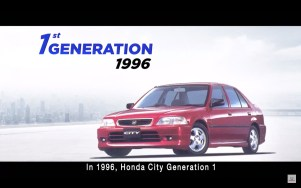 Honda City sedan-first-gen