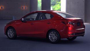 Mazda 2 Sedan facelift 3