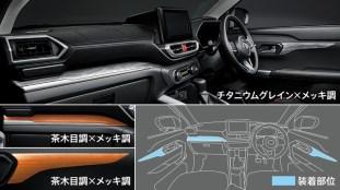 Toyota Raize Modellista interior 2