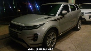 Second-gen Range Rover Evoque spotted in Malaysia 2