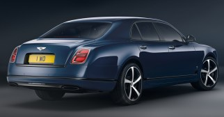 2020 Bentley Mulsanne 6.75 Edition by Mulliner