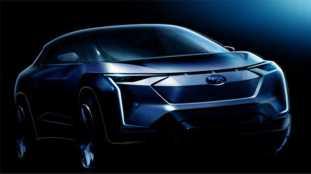 Subaru EV crossover concept sketch (1)