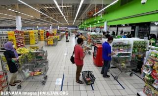 Bernama covid pasaraya supermarket
