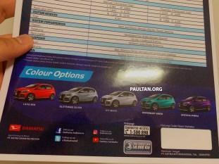 Daihatsu Sirion Cross brochure 2