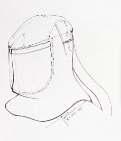 Disposable Hood Sketch