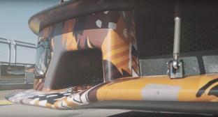 Lamborghini Squadra Corse V12 track car teaser-4