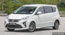 Perodua Alza second facelift