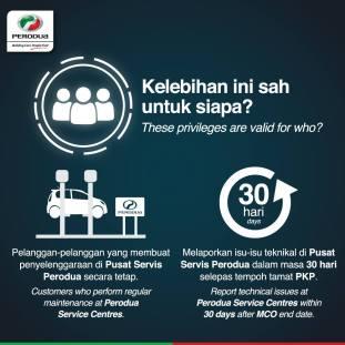 Perodua MCO Warranty 3