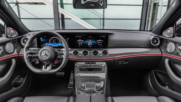 W213 Mercedes-Benz E-Class facelift-E53 4Matic+ Sedan-18