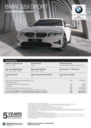 G20 BMW 320i Sport April 2020 1