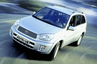 Toyota RAV4 through the years 4