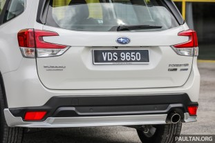 2020 Subaru Forester 2.0L GT Edition Malaysia_Ext-28